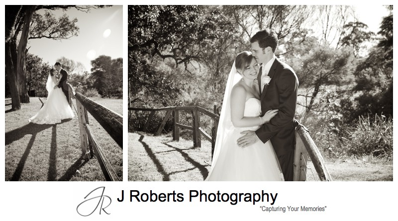 Sepia wedding portraits - wedding photography sydney