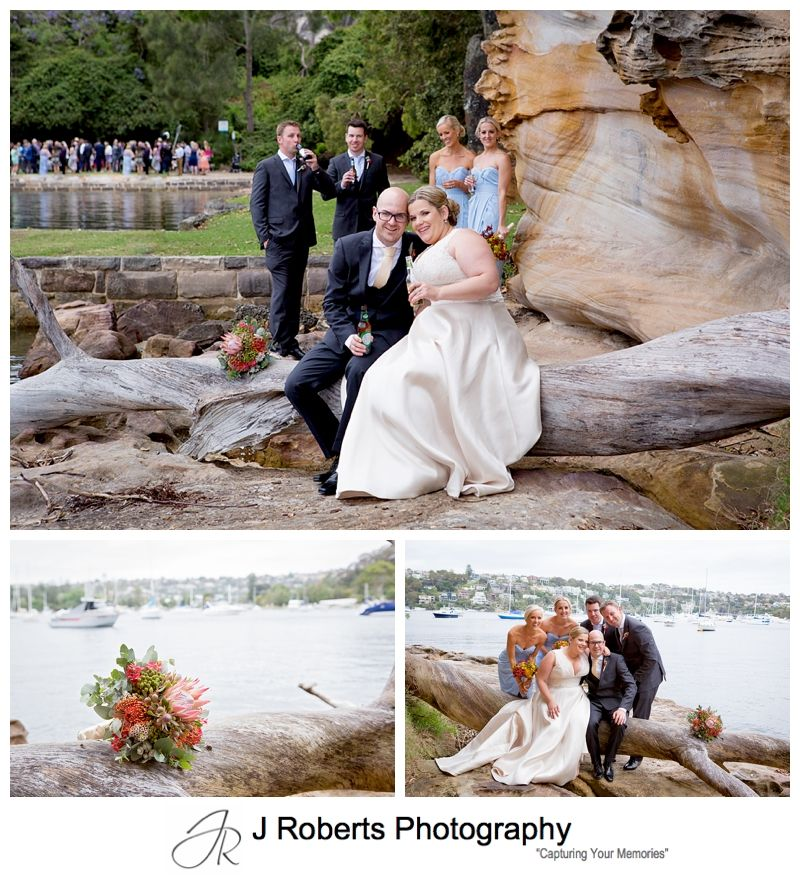 Wedding Photography Sydney Pearl Bay Reserve and Cala Luna The Spit Mosman