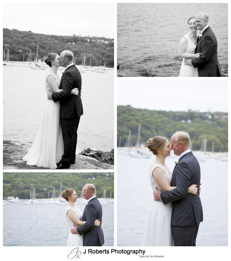 Couple portraits the island balmoral beach - wedding photography sydney