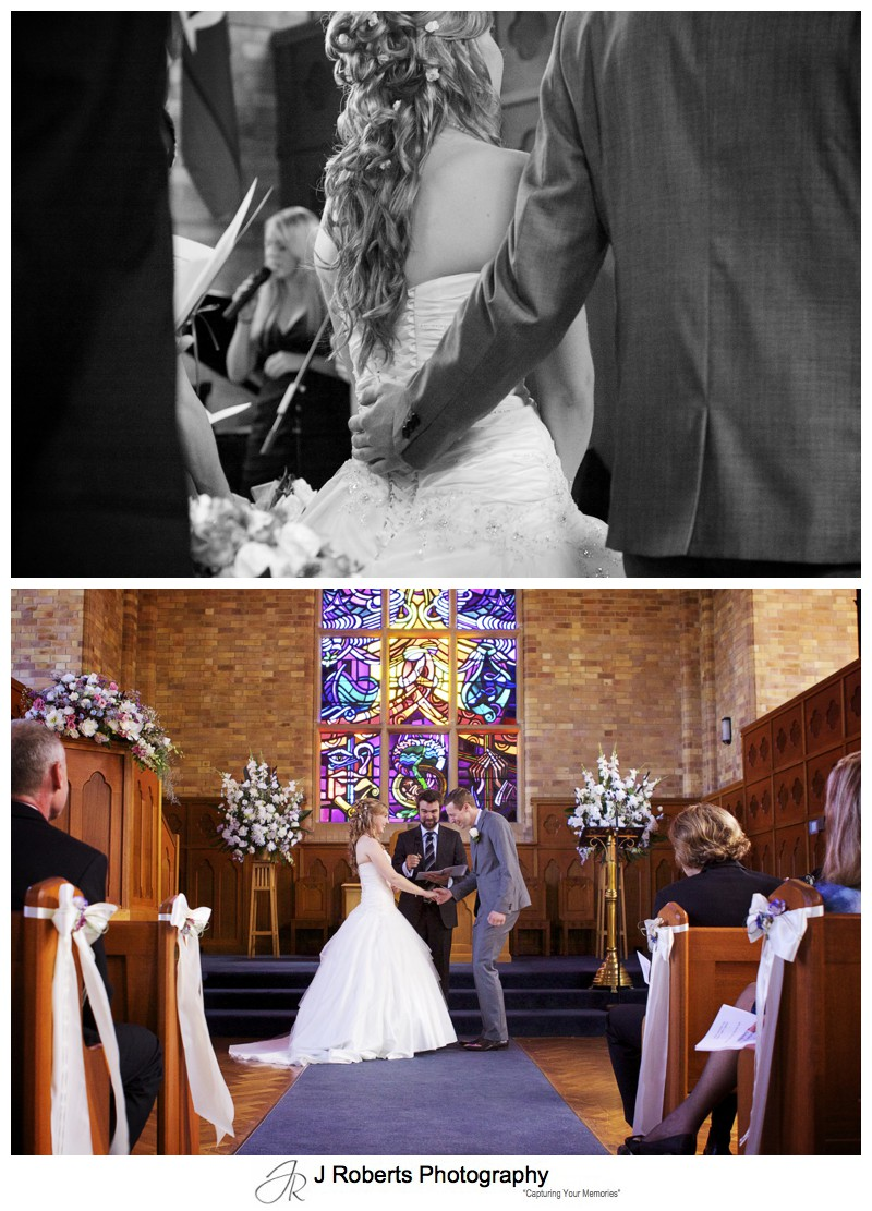 Wedding at PLC Pymble Chapel - wedding photography sydney