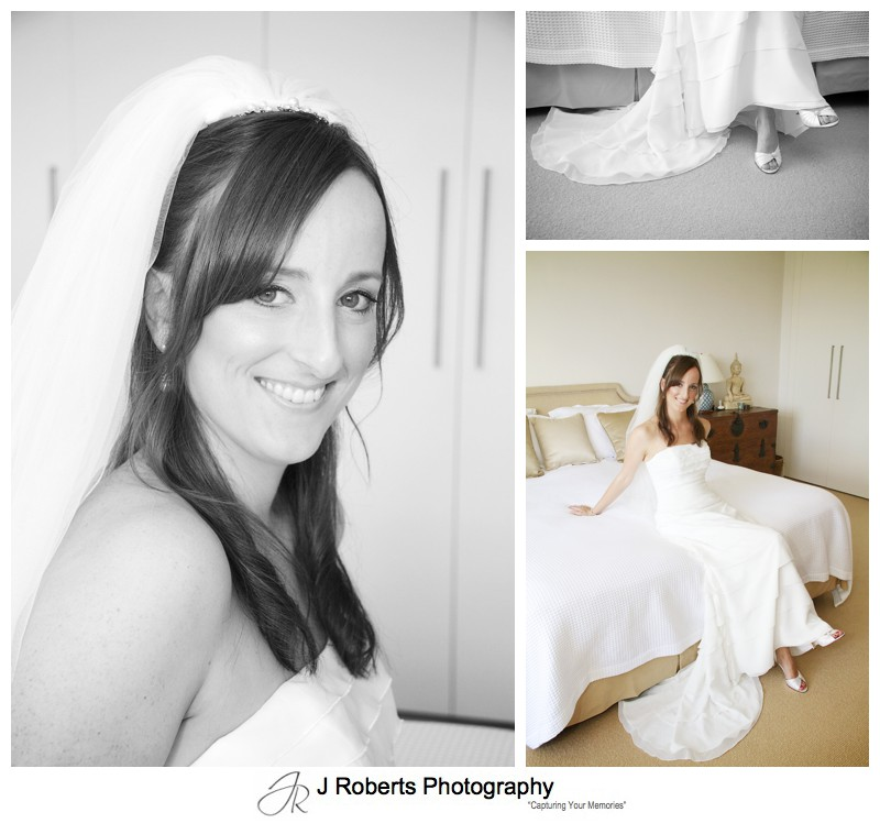 Beautiful portraits of the bride - wedding photography sydney