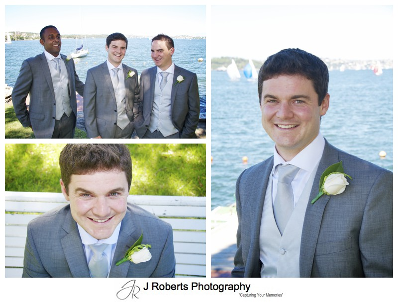 Portraits of the groom - wedding photography sydney