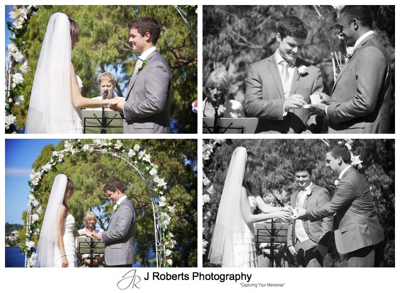 Details of the wedding ceremony - wedding photography sydney