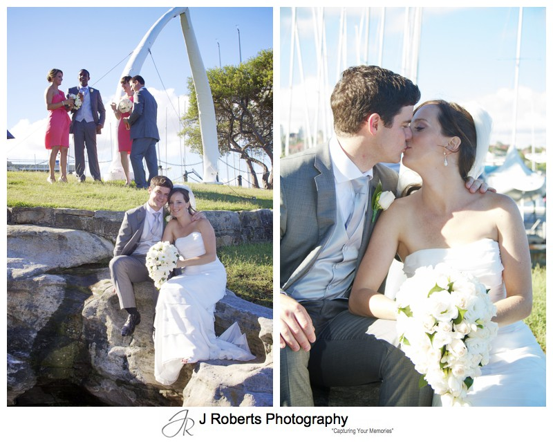 Bride and groom portraits - wedding photography sydney