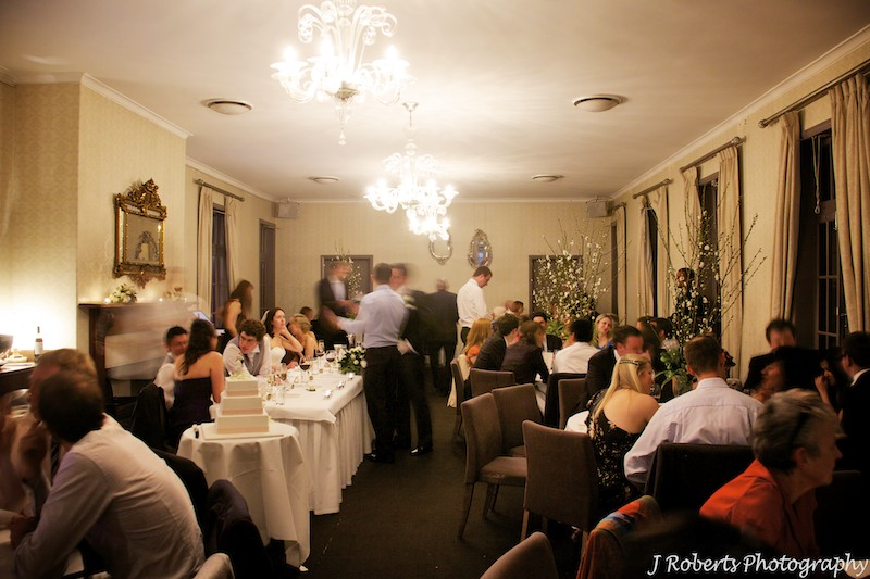 Atmosphere at wedding reception The Tea Rooms Gunners' Barracks Mosman - wedding photography sydney