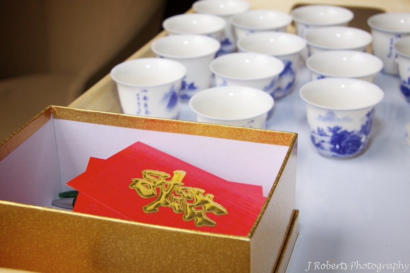 Chinese gift box - wedding photography sydney
