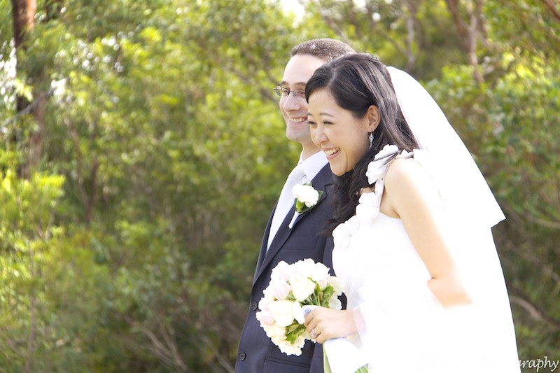 smiling couple - wedding photography sydney