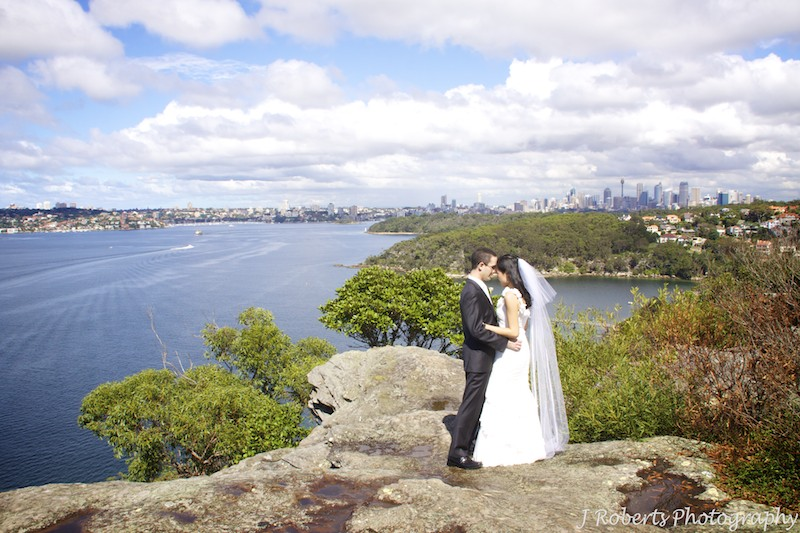 Special moment with bride and groom - wedding photography sydney