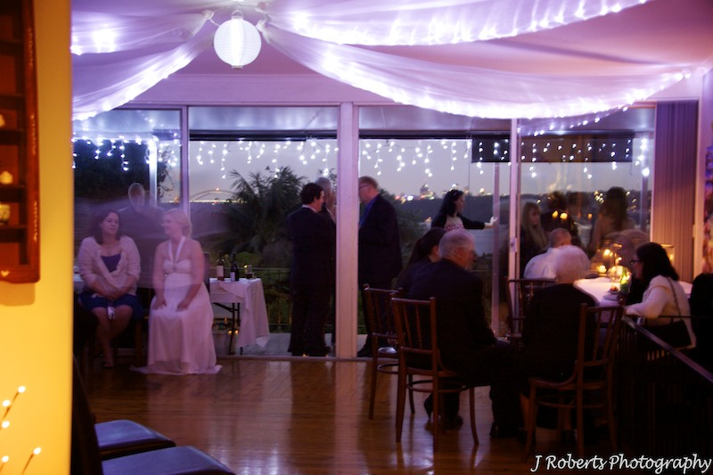Wedding reception held in family home vaucluse - wedding photography sydney
