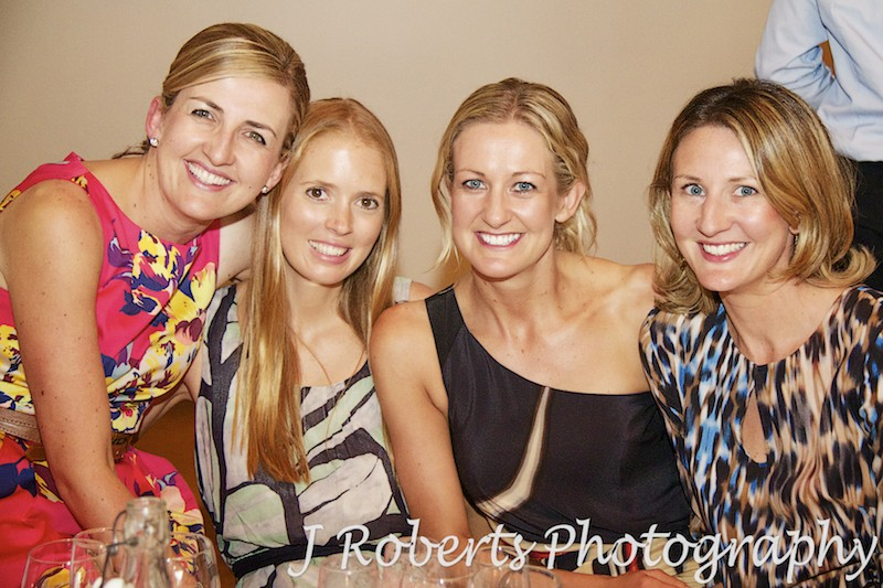 Group of cousins at wedding reception - wedding photography sydney