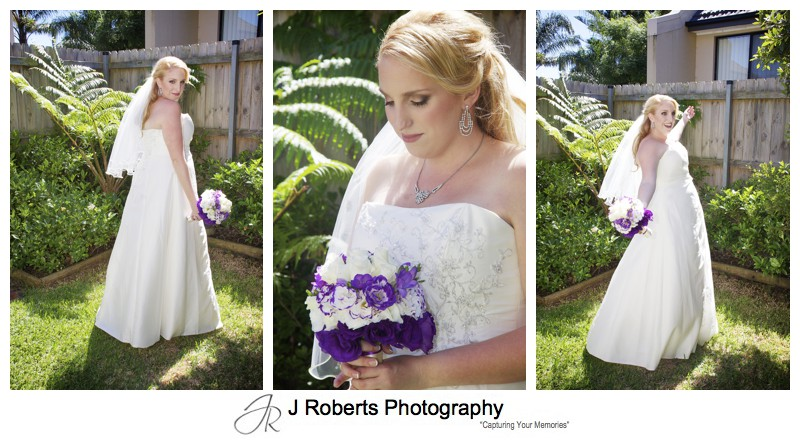 Bridal portraits - wedding photography sydney