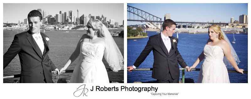 Fun photos with bride and groom - wedding photography sydney
