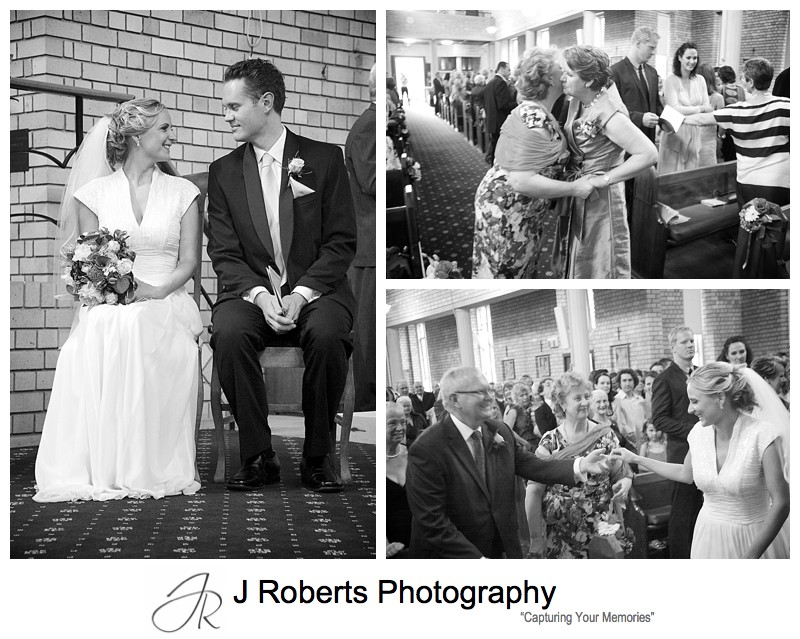 peace be with you = wedding photography sydney