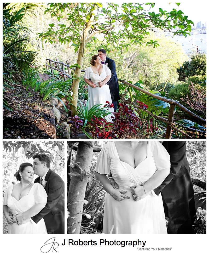 Wedding Photography Sydney Wendy Whiteley's Secret Garden Lavender Bay and Sails Restaurant