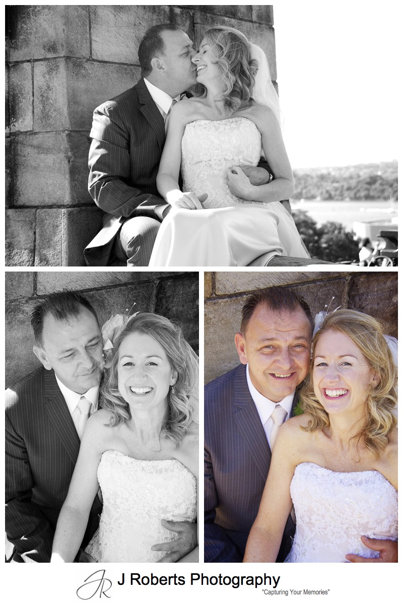 Portraits of bride and groom - wedding photography sydney