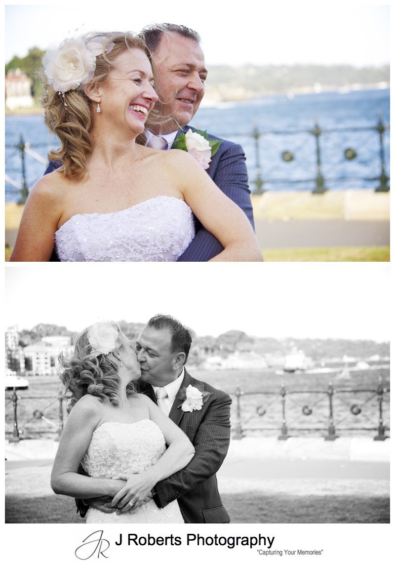 Couple laughing - wedding photography sydney