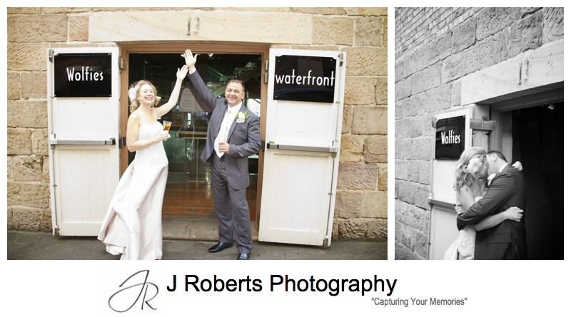Wolfies at number 13 - wedding photography sydney