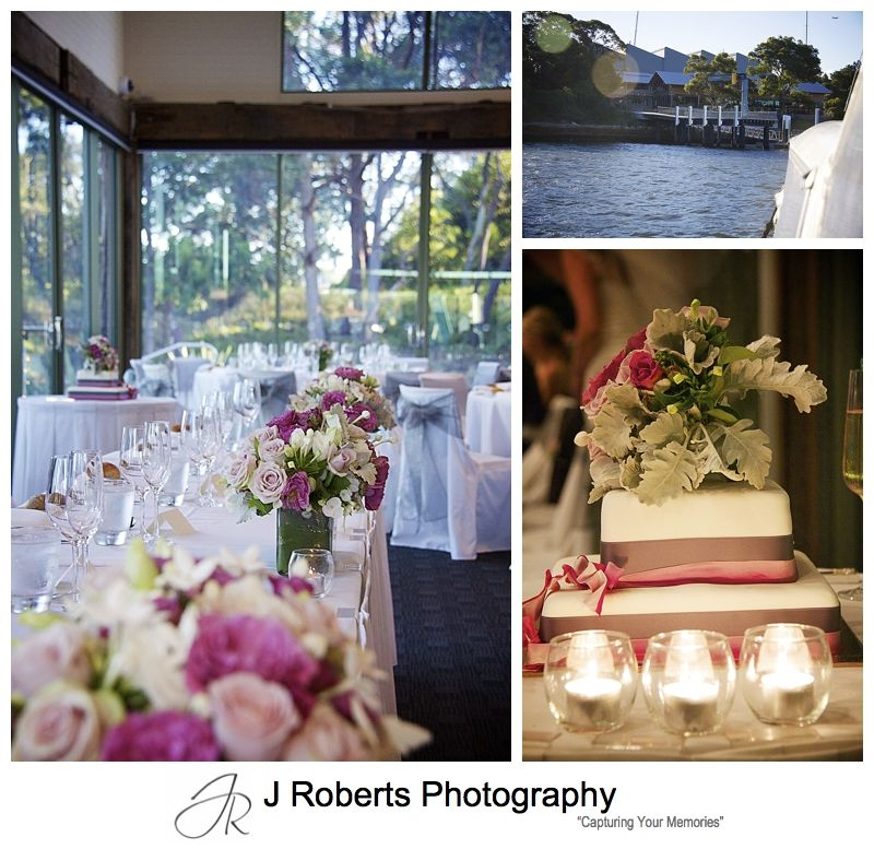 Wedding reception at Deckhouse Woolwich - wedding photography sydney