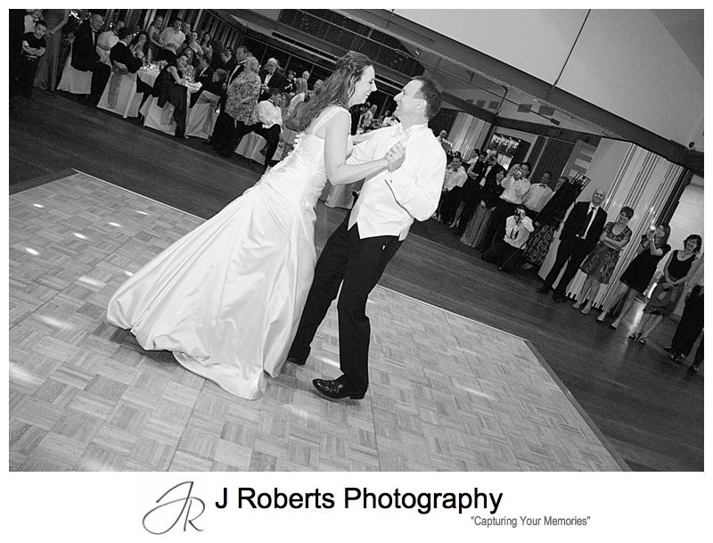 Bridal waltz - wedding photography sydney