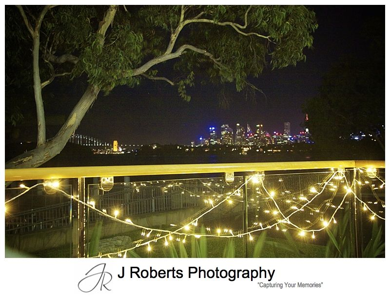 City views from Deckhouse Woolwich - wedding photography sydney
