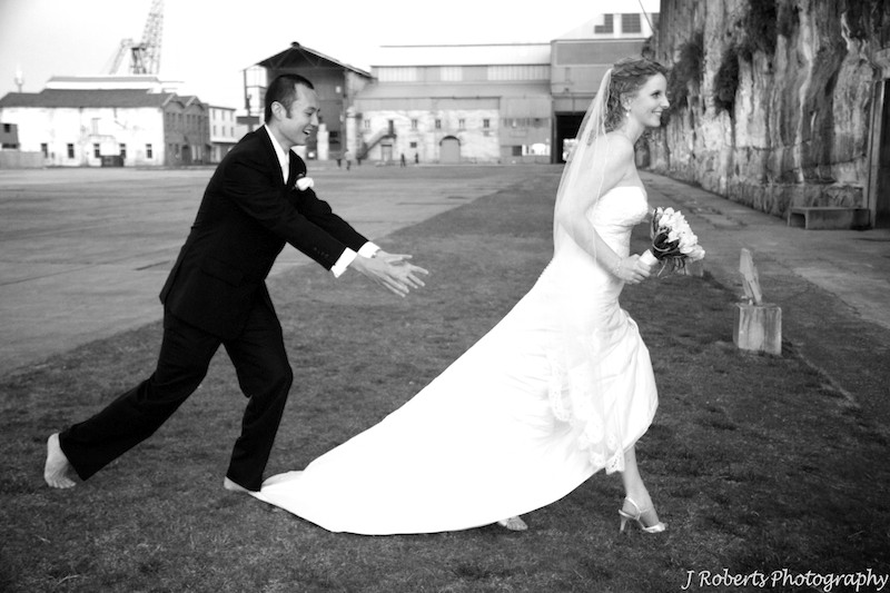 Runaway bride - wedding photography sydney