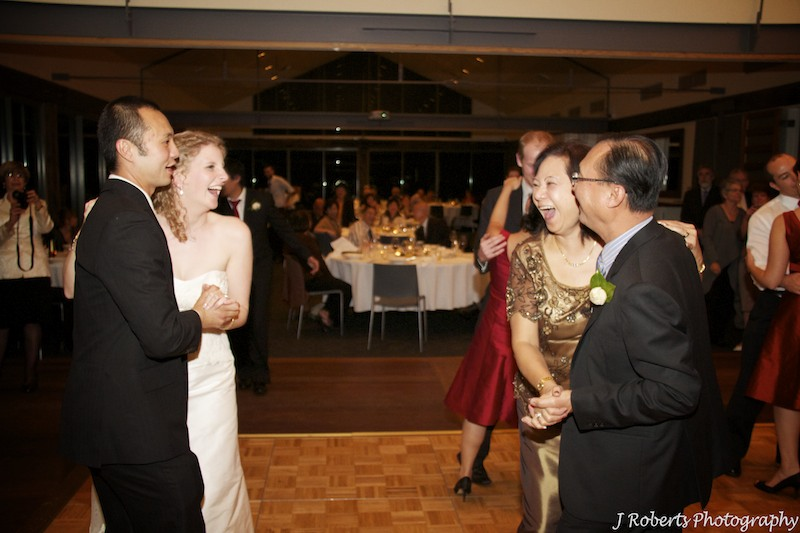 Couple dancing - wedding photography sydney