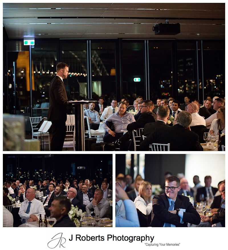 Western Earth Moving 60th Anniversary Dinner at The Harbourside Room MCA The Rocks Sydney