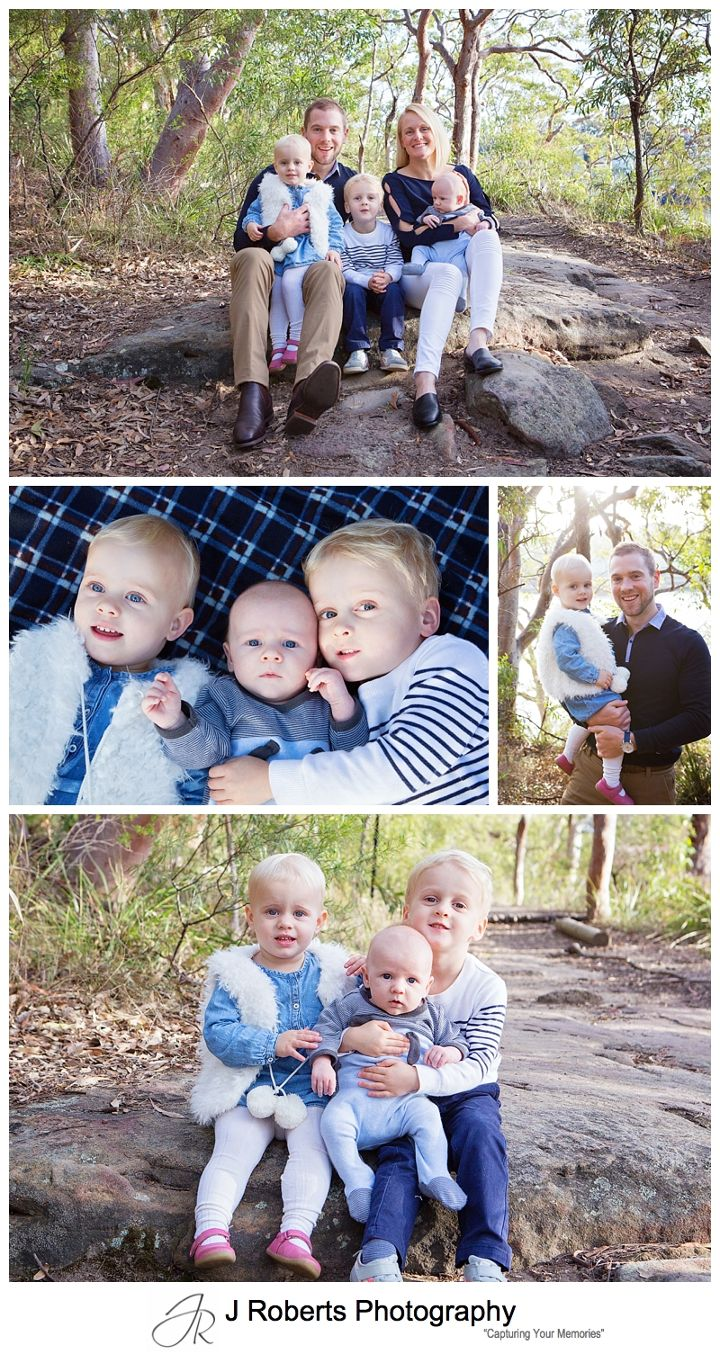 Winter Family Portrait Mini Sessions Berry Island Reserve Wollstonecraft Sydney