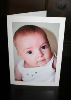 Personalised Photographic Card - baby