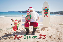 Aussie Santa Photos